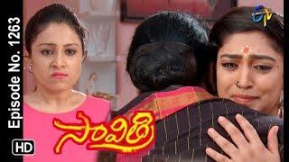 Savithri   23rd April 2019   Full Episode No 1263   ETV Telugu