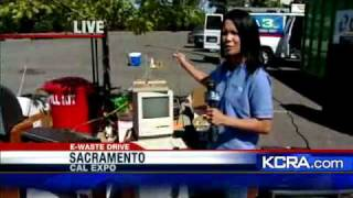 Dump Old TVs At E-Waste Drive