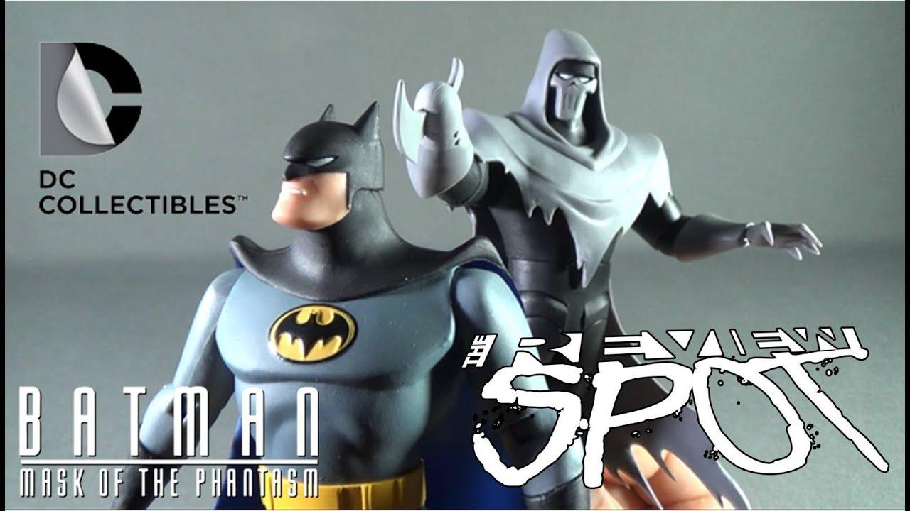 DC Comics Batman Mask of the Phantasm Batman and Phantasm 2-Pack Action Figure