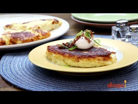 How To Make Crispy Mashed Potato Pancakes | Potato Recipes | Allrecipes.com