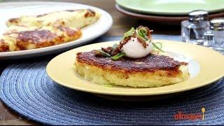 Potato Recipes - How To Make Crispy Mashed Potato Pancakes