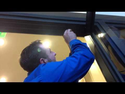 How to adjust a Center Hung Door