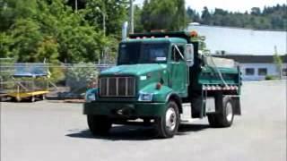For Sale Peterbilt PB330 S/A Dump Truck Allison Auto Cat 3126E AC bidadoo.com