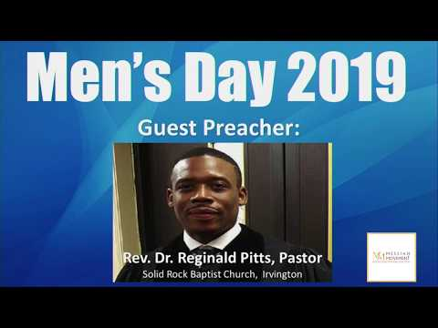 Oct. 20, 2019 Guest Preacher - Rev. Dr. Reginald Pitts, Solid Rock Baptist Church, Irvington, NJ