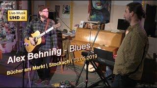4K UHD | Auf und davon (Blues) by Alex Behning | Bücher am Markt Stockach