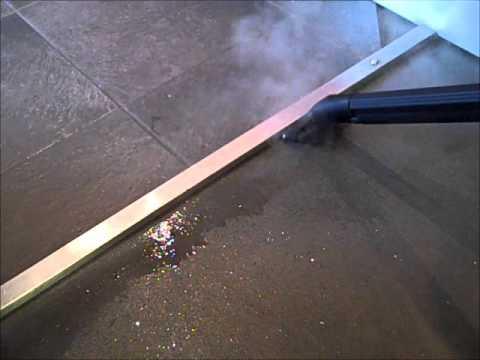 Commercial Steam Vacuum Cleaners - How to Clean Vinyl & Resin Floors