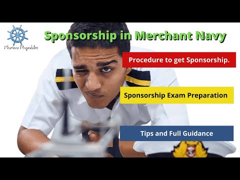 Company Sponsorship for DNS ( Deck Cadet ) in Merchant Navy. Procedure to get it.