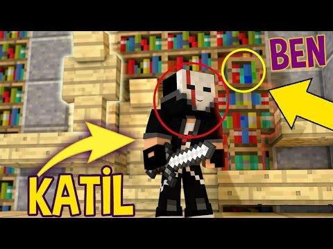 KATİL BİZİ GÖREMİYOR !!! MİNECRAFT KATİL KİM #10 - Видео из Майнкрафт (Minecraft)