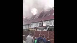 На Северо-Западе Челябинска горит элитный поселок Благодатово(, 2015-09-19T10:33:31.000Z)
