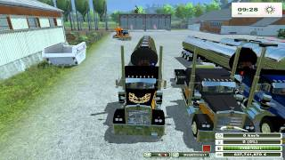FARMING SIMULATOR 2013 NEW TEST MODS CAMION & BOTTI by fmarco95
