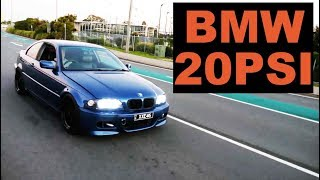 BMW E46 TURBO BUILD | ep 11 | 20PSI with 1000cc Injectors