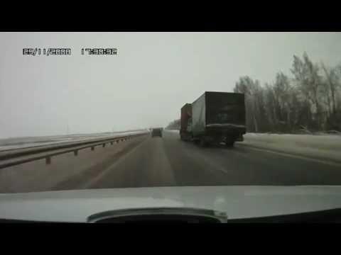 Авария при въезде в Чувашию. Real-Time