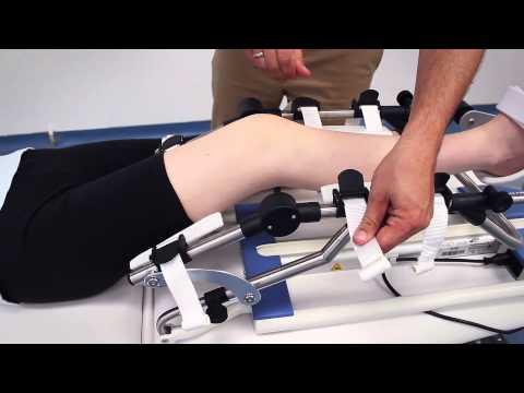 ARTROMOT®-K1 CPM-Kniebewegungsschiene Trainingsvideo