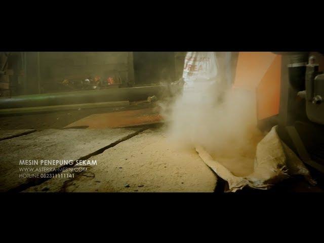 SUPER HALUS!!! Mesin Penepung Sekam Penggiling Dedak Bekatul Kulit Padi AM MTS-16