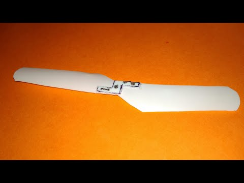 How to make a propeller at home ||very easy||