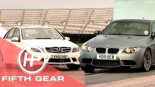 Fifth Gear: BMW M3 Vs Mercedes C63 AMG