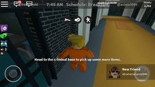 Playing with jase in roblox jailbreak when i was calling him