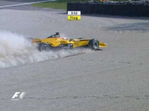 Narain Karthikeyan 2005 Italian Grand Prix at Monza FP4