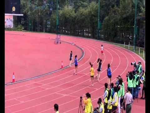 2010-2011年度中學校際田徑錦標賽(港九)(D1)女丙決賽100m