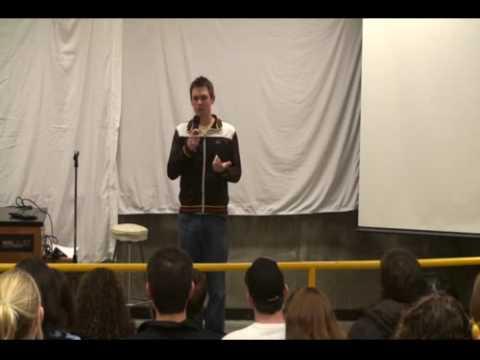 Lee Barats Standup at Cal Poly 1/2