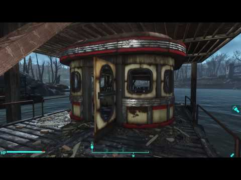 "Egret Tours Marina ""Lived-in"" Settlement Build - Fallout 4 Settlements"