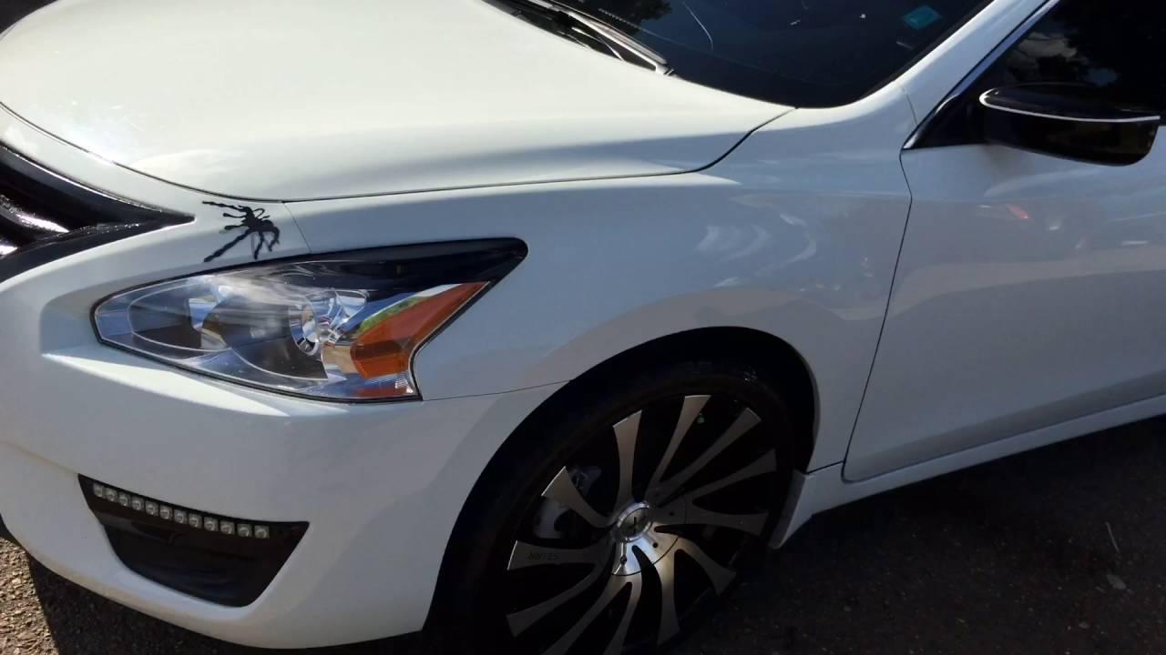 My Custom 2015 Nissan Altima S Youtube