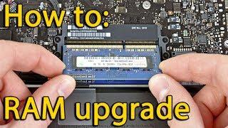 Lenovo B50-30 disassembling, RAM removing, разборка ноутбука, снятие (замена) ОЗУ