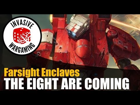 The Eight Farsight Enclaves Chapter Approved 2018 Warhammer 40k