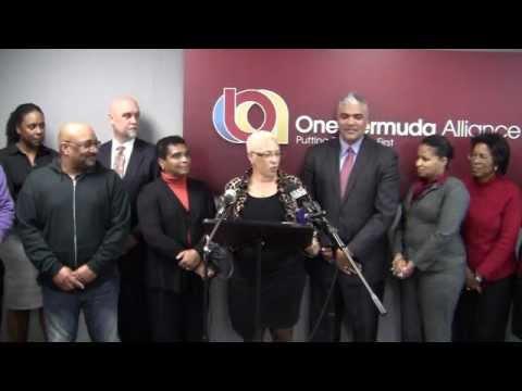 OBA Announces Candidate Leah Scott Bermuda February 22 2012