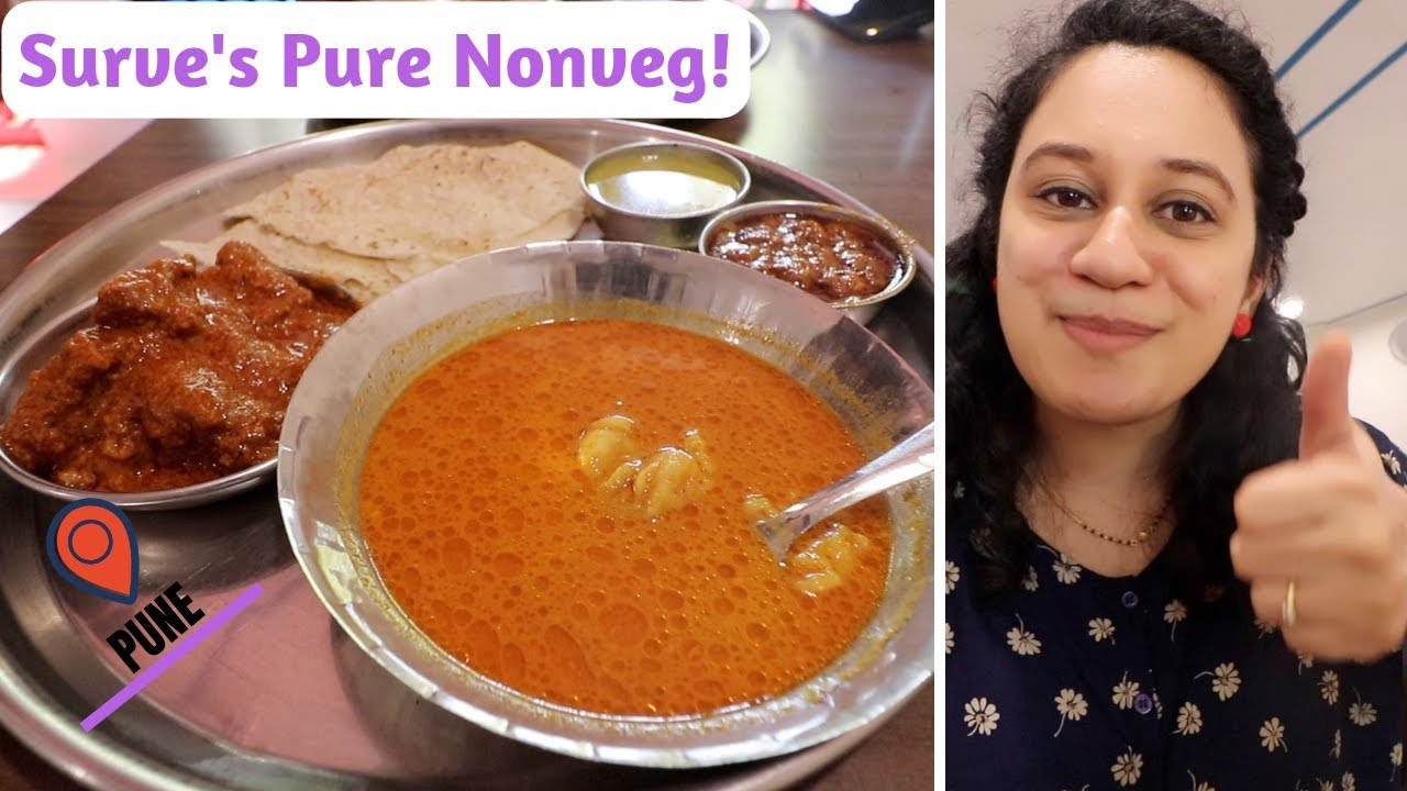Surve & # 39; s Pure Nonveg | Best Chicken and Mutton Thali | Pune | Indian Food Vlog