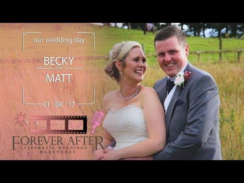 Matt & Becky - Our Wedding Highlights 01.08.17