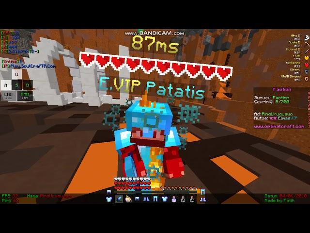 Minecraft OptimalCraft  PingUruguayo Ws Patatis Dostluk Ws S?
