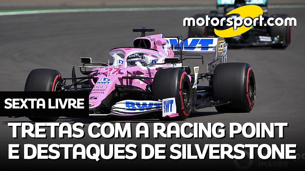 F1 2020: Punição à Racing Point, troca de farpa com Renault e destaques da Inglaterra no SEXTA-LIVRE