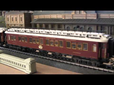 Märklin Orient Express..Bavarian Class S 3/6 + Set 42754..from 1910.