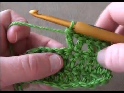 Crochet V Stitch - How to Crochet V Stitch - YouTube