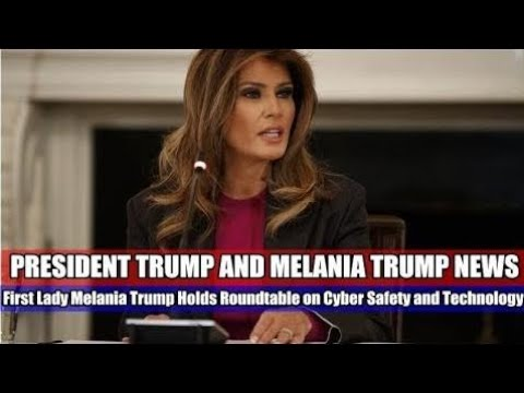 NEWS ALERTS, Melania Trump Hosts Roundtable with Technology Leaders, USA LATEST NEWS TODAY