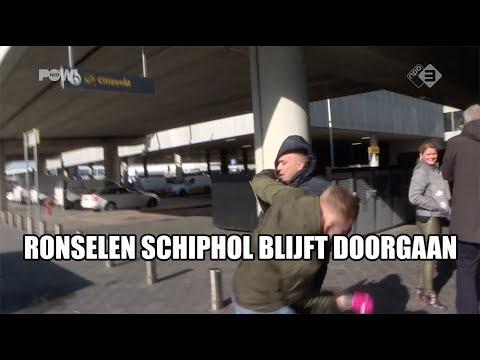 Ronselen op Schiphol blijft doorgaan