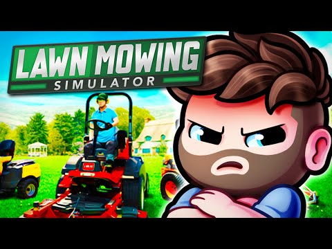 I got roasted while playing Lawn Mower Simulator! |