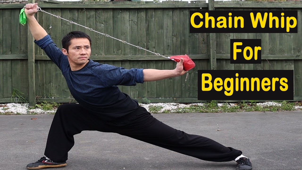 Kung Fu Wushu Chain Whip Step By Step For Beginners