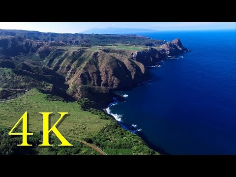 Phantom 3 Professional Flight in Maui, in 4K