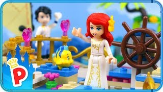 ♥ LEGO Ariel is a RUNAWAY BRIDE from her Wedding with the Love Boat