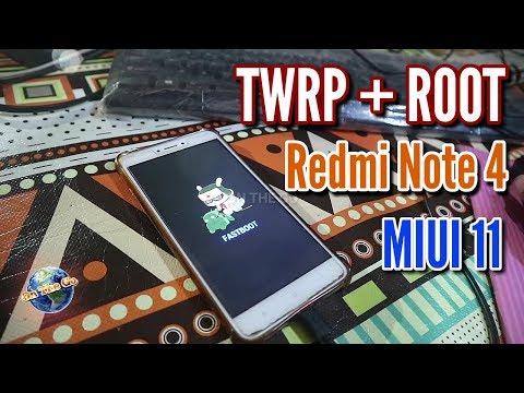 Pasang Twrp dan Root Redmi Note 4/4X update 2020 - anti GAGAL anti BOTLOOP.