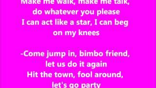 Barbie Girl Karaoke Instrumental Aqua Official YouTube