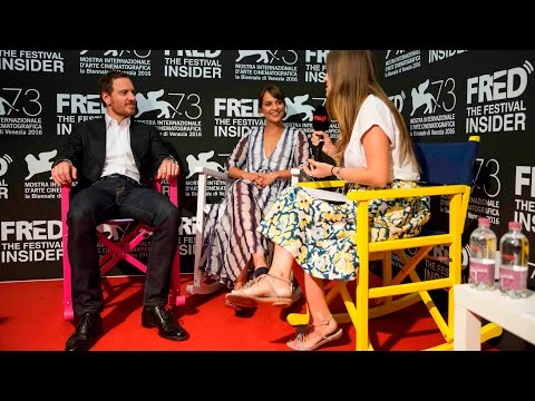 Derek Ciafrance, Michael Fassbender and Alicia Vikander - The Light Between Oceans