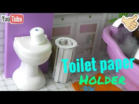 DIY Barbie Doll Toilet Paper Holder | Including toilet paper|-Crafting Queen