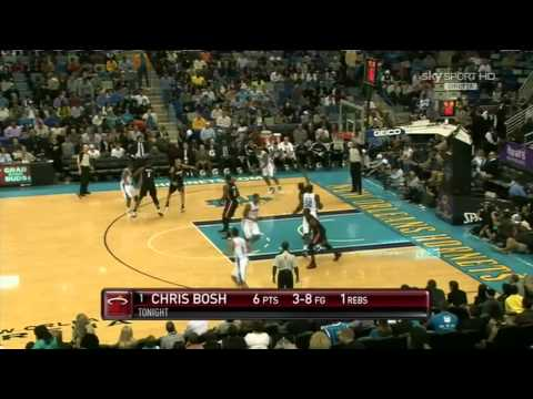 Chris Paul 13pts-19ast & Emeka Okafor 26pts(FG: 12/13) vs. Heat (11.05.10)