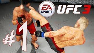 EA SPORTS UFC 3 - Parte 1: Senhor DaPicanha no WFA!!! [ PS4 Pro - Playthrough ]