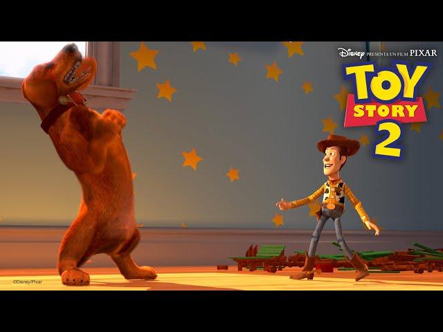 Woody e Buster giocano a nascondino | Toy Story 2