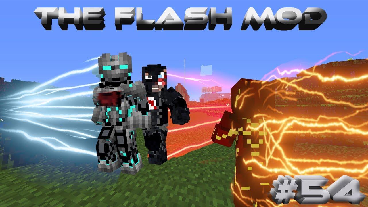 Minecraft The Flash Mod Adventures Episode 54 The Black Flash Kills