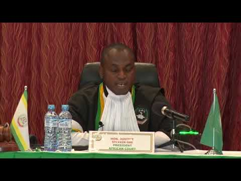 JUDGEMENT DELIVERY ON APPLICATION 032/2015 KIJIJI ISIAGA V. THE UNITED REPUBLIC OF TANZANIA